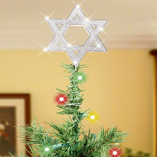 Jewish Star Tree Topper - Image Home Garden and Tree Rtecx.Com